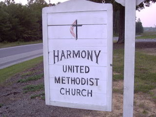 Church Sign from the 1980's & 1990's.