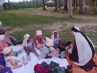 Scene from 2006 Vacation Bible School.
