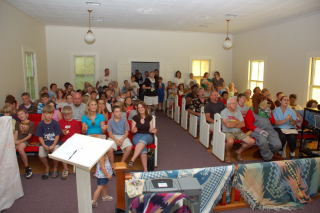 2007 VBS Program (over 90 participated).